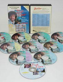 Bob Ross 10 DVD Set