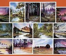 BOB ROSS Joy of Painting - Instruktionsbuch Nr.6