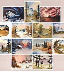 BOB ROSS Joy of Painting - Instruktionsbuch Nr.8