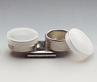 Blech-Palettenstecker, zweiteilig mit Deckel