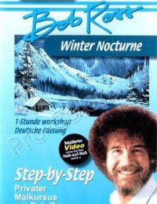 Bob Ross Winter Nocturne DVD