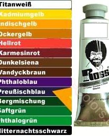 Bob Ross Ölfarbe 37ml
