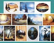 BOB ROSS Joy of Painting - Instruktionsbuch Nr.28