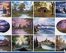 BOB ROSS Joy of Painting - Instruktionsbuch Nr.15