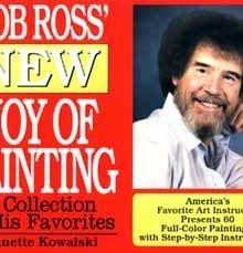 BOB ROSS - New Joy of Painting - Sammelband