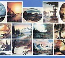 BOB ROSS Joy of Painting - Instruktionsbuch Nr.25 - deutsch