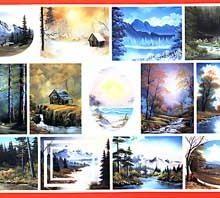 BOB ROSS Joy of Painting - Instruktionsbuch Nr.22 - deutsch