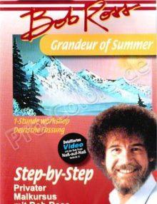 Bob Ross Grandeur of Summer DVD