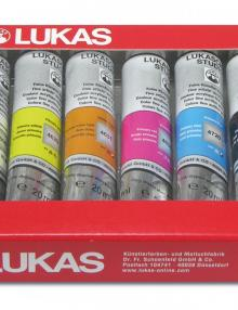 Lukas Cryl Studio - Acrylfarbensortiment 6x20ml