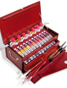 Lukas 1862 - Ölfarben im Holzkoffer groß