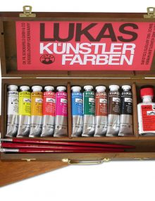 Lukas Berlin - Ölfarben im Holzkoffer klein
