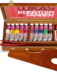Lukas 1862 - Ölfarben im Holzkoffer klein
