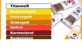 Farben für Textilien
