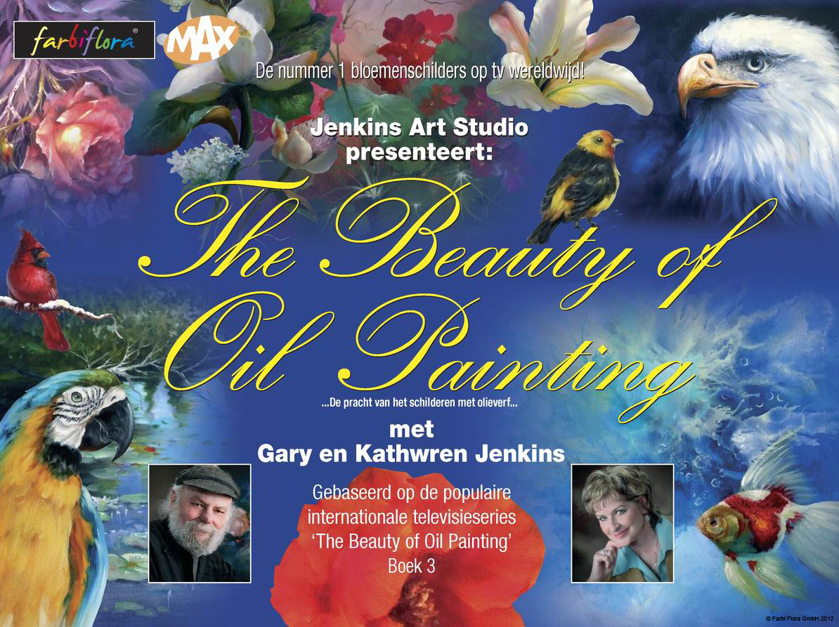 Beauty Of Oil Painting With Gary And Kathwren Jenkins