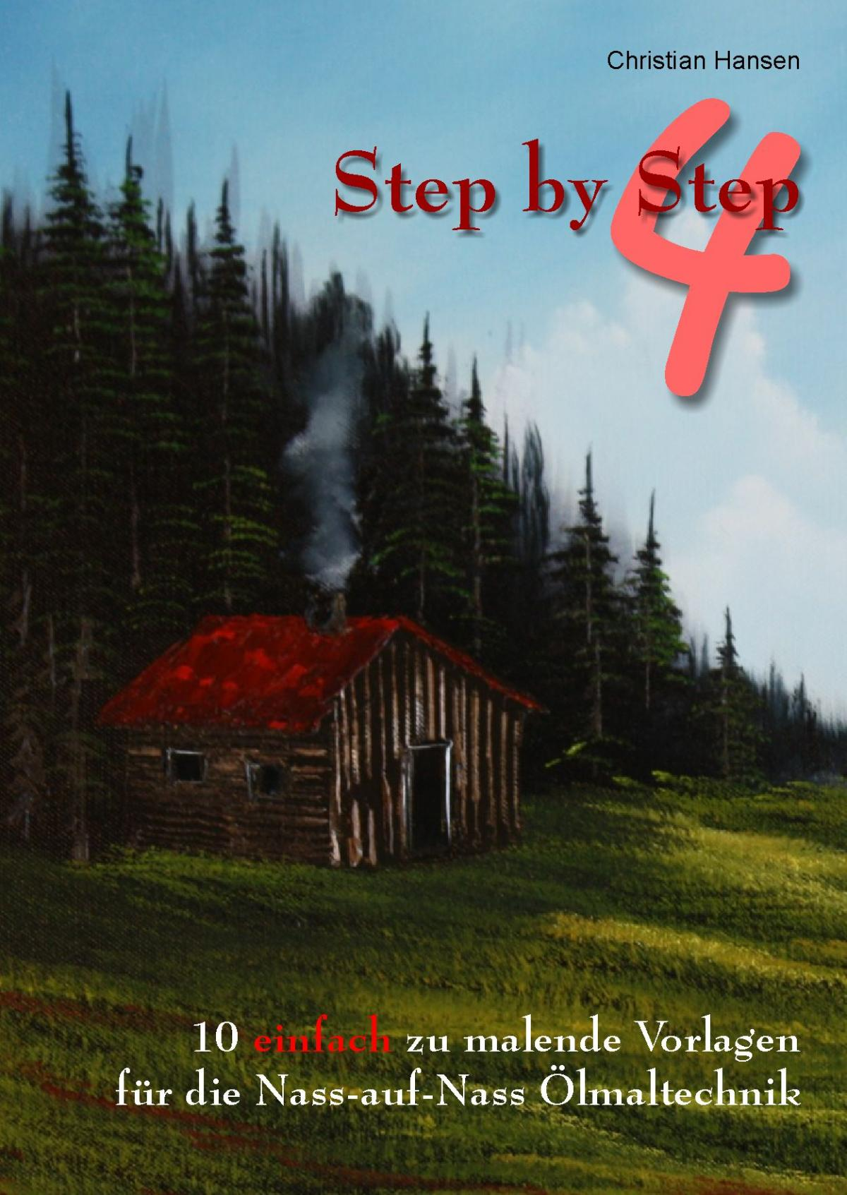 Step by Step 4 - Nass-in-Nass Malerei