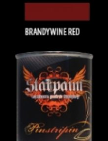 Pinstripe Farbe BRANDYWINE RED