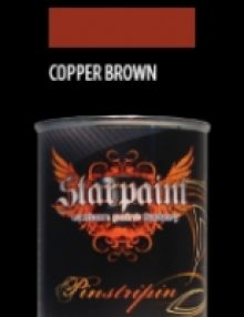 Pinstripe Farbe COPPER BROWN