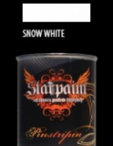 Pinstripe Farbe SNOW WHITE