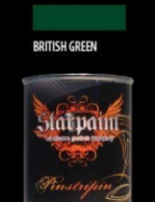 Pinstripe Farbe BRITISH GREEN
