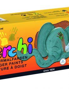 "nerchau nerchi Fingermalfarben 3er-Set ""Im Zoo"""