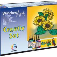 """nerchau Fenstermalfarben, Window Art, """"Creativ Set"""""""