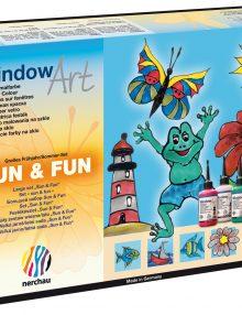 """nerchau Fenstermalfarben, Window Art, """"Großes Frühjahr/Sommer Set"""""""