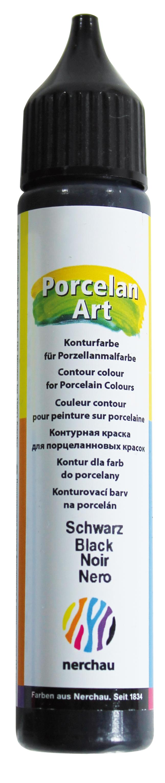 nerchau Porcelan Art, Konturenstift - Liner