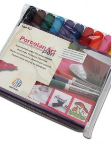 nerchau Porcelan Art pen, Porzellanmalstifte 10er-Set
