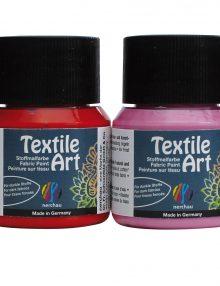 """Textile Art, 6er-Set """"INDIA"""", für dunkle Stoffe"""