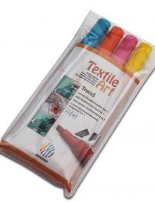 "Textile Art, 4er-Set Stoffmalstifte""Trend"""