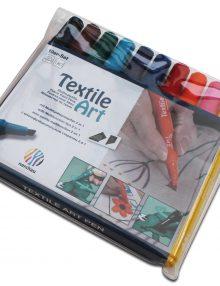 Textile Art, 10er-Set Stoffmalstifte