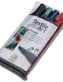 "Textile Art, 4er-Set Stoffmalstifte""Classic"""