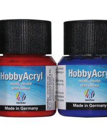 nerchau Hobby Acryl matt, Starter-Set