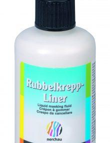 nerchau Rubbelkrepp-Liner für die Acrylmalerei 80 ml