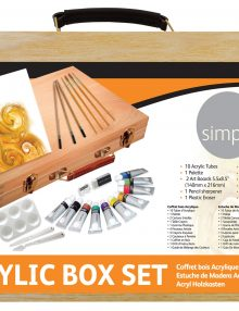 Simply Acryl Holzkoffer