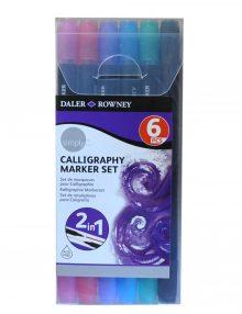 Simply Kalligraphie Marker Set, 6-teilig