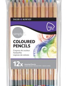 Simply Farbstifteset, 12-teilig