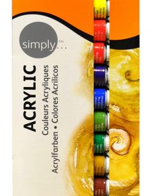 Simply Acryl, 12er Set, je 12 ml Tuben