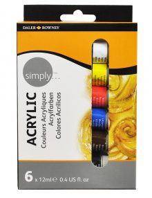 Simply Acryl, 6er Set, je 12ml Tuben