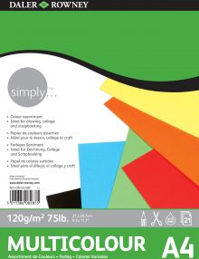 Simply Block, Multicolor-Papier
