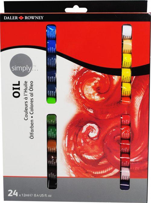 Simply Öl, 24er Set, je 12ml Tuben