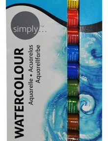 Simply Aquarell, 12er Set je 12 ml Tuben