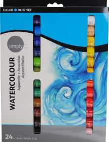 Simply Aquarell, 24er Set, je 12ml Tuben