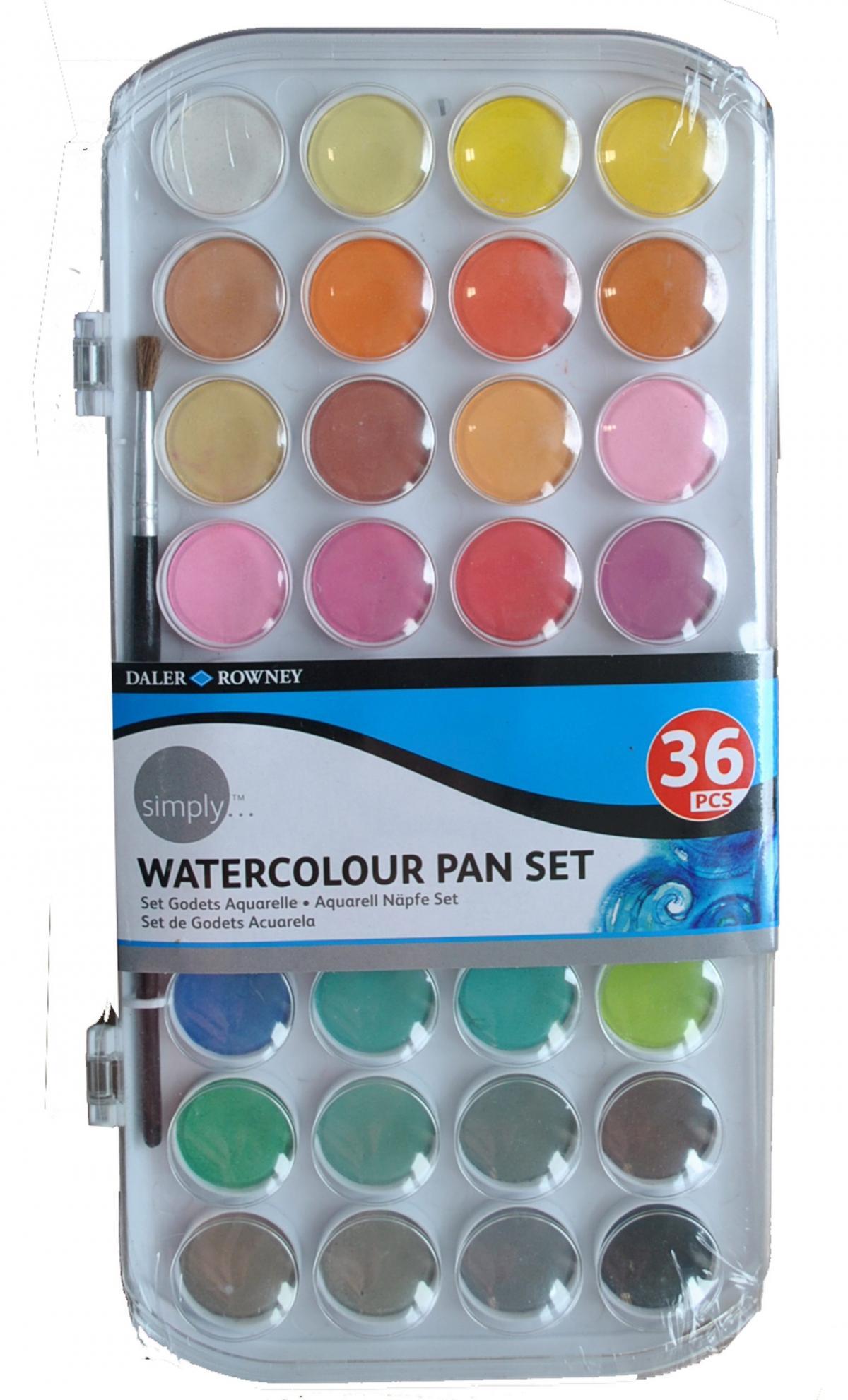 Aquarell Farben