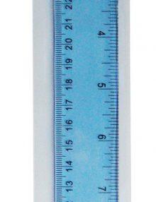 simply, Geometrie, Lineal, 30 cm. Plastik