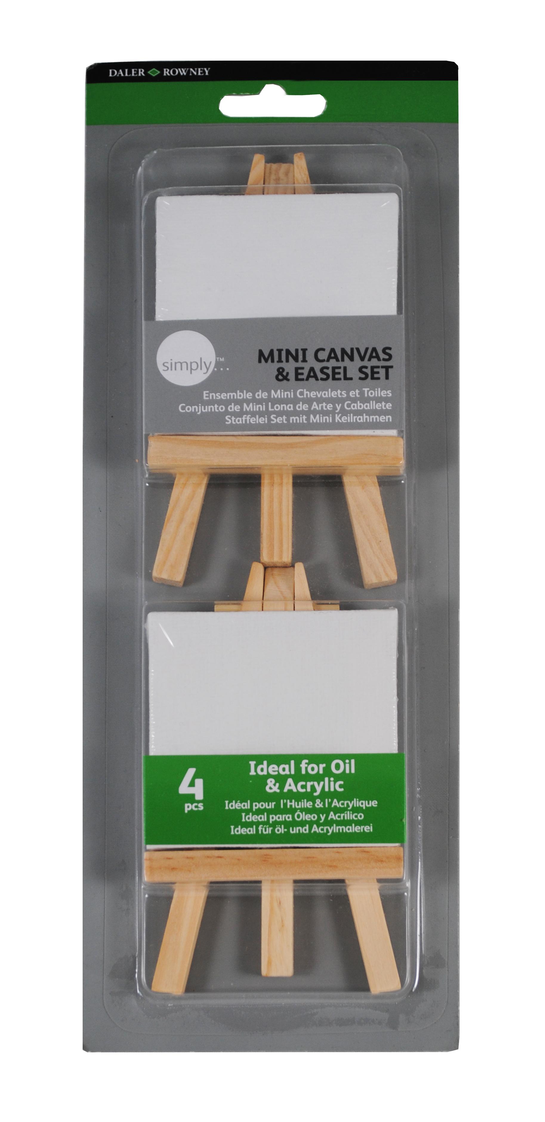 simply 2 Mini Keilrahmen- und Staffeleiset