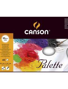 Canson Abreiss-Farbpalette 40 Blatt